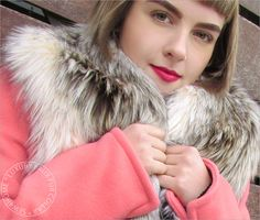 Luxury Faux Fur Collar Sewing Tutorial created for Fabric Depot @fabricdepot -  by @sew4home Sew4Home | Transform Your Space. Features our Island Raccoon Faux Fur http://www.shannonfabrics.com/faux-fur/specialty/island-raccoon-fur-charcoal-beige