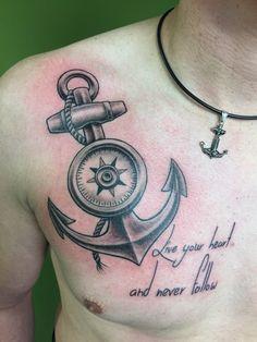 Anchor Tattoo  C-T-P Nürnberg