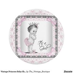 Vintage Princess Baby Shower