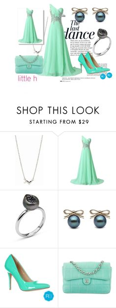 """Celebrate the new Year with LITTLE h JEWELRY"" by mery66 ❤ liked on Polyvore featuring Anja, Pearl & Black, Chanel, pearljewelry and littlehjewelry"