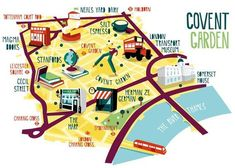 Lovely Illustrated London Maps Point You To Must-Visit Places In The City - DesignTAXI.com