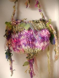 art yarn bags - Google Search