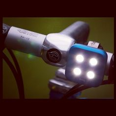 Knog Blinder headlight (just got one and love it! It's USB rechargeable and waterproof)