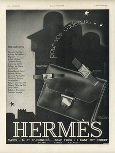Vintage Hermes ad