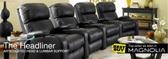Theater Seating | Home Theater Rooms | Movie Seating - Theater Seat Store