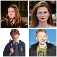 Then and Now: The Harry Potter Cast