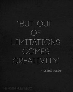 Minters, trying to do more by spending less? That's where creativity comes in.