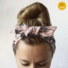 Headscarf  Jersey hair wrap