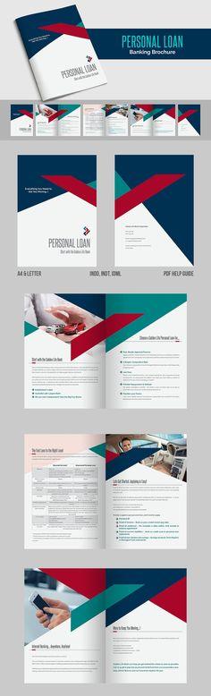 Personal Loan - Banking Brochure PDF, INDD