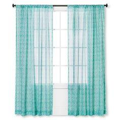 Target P Sheer Curtain