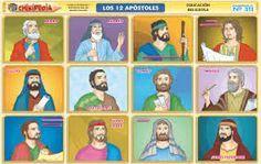 PERSONAJES BIBLICOS LOS 12 DISCIPULOS - Buscar con Google