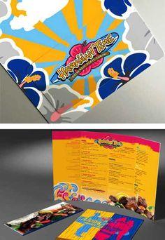 desain brosur restoran masbadar contoh flyer