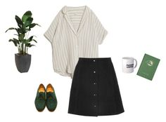 """""""Untitled #55"""" by samarayared on Polyvore featuring MASSCOB, Topshop, Dieppa Restrepo and Ethan Allen"""