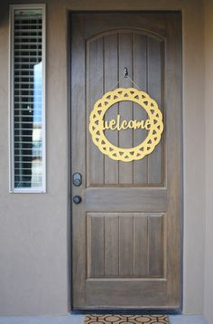 Image of WELCOME DECORATIVE CIRCLE