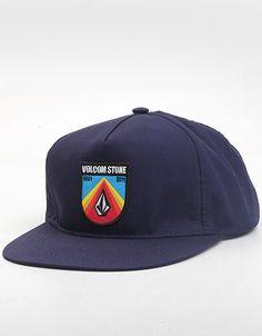 86d34b8ded879 Volcom Mantis Cheese Adjustable cap (Dark Navy)