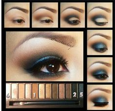 Smokey eye with Naked Palette