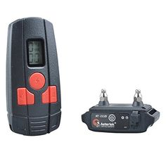 Aetertek AT211D1 Rechargeable 1 Dog Training Shock Collar with Remote 400 Yard Multifunction Warm Beep Tone Vibrate  10 Levels Shock Correct Bad Habits * Visit the affiliate link Amazon.com on image for more details.