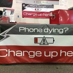 PlusBlue Mobile Power  for next marketing event..genius!