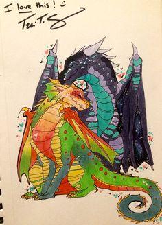 Wings of Fire by FikaKitty