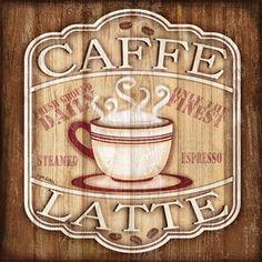 Caffe Label I <br/> Jen Killeen