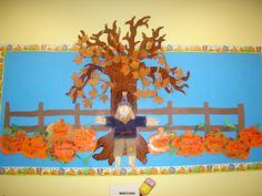 Fall Bulletin Board Idea