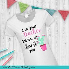 Cactus teacher tee!