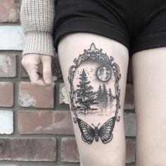 inkmymisery:  prettyf0x:  New ink! done by the amazing Juju:https://instagram.com/juliajujutattoo/  INK