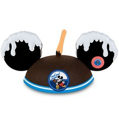 ice cream mickey mouse ear hat :)