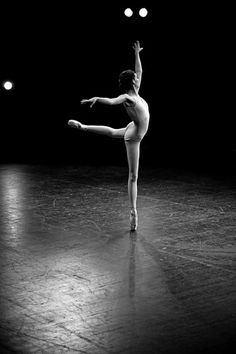 I've always wished I would have done ballet. So beautiful