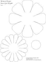 Resultado de imagen para paper flowers craft templates