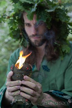 Druids Trees:  #Druid. (This one reminds me of Leso, another character from my novella)