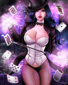 Gotham Girls: Zatanna by iurypadilha.deviantart.com on @deviantART