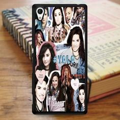 Demi Lovato Yolo Collage Sony Experia Z4 Case
