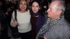 María José San Román, Elena Arzak and Juan Mari Arzak at the Madrid Fusión Phillipine Islands reception at Ramses Restaurant in Madrid, Feb. 1 2015. Photo by Gerry Dawes.