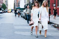 Friends | Dresses | White | Streetstyle | More on Fashionchick.nl