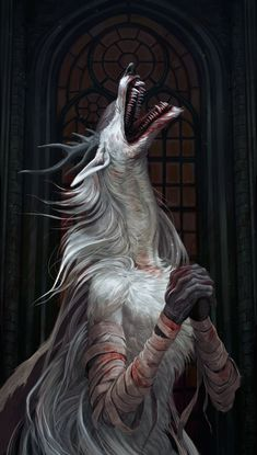 """Vicar Amelia by Atenebris.   """"Seek the old blood. Let us pray... let us wish... to partake in communion. Let us partake in communion... and feast upon the old blood. Our thirst for blood satiates us, soothes our fears. Seek the old blood... but beware the frailty of men. Their wills are weak, minds young. The foul beasts will dangle nectar and lure the meek into the depths. Remain wary of the frailty of men. Their wills are weak, minds young. Were it not for fear, death would go unlamented."""""""