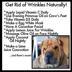 How to Get Rid Of Wrinkles Naturally - Let's find out how to get rid of #wrinkles naturally: