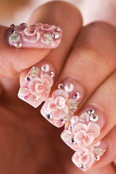 ஐPINK FASHION~Pink Passion✿ ***Rococo Nails**