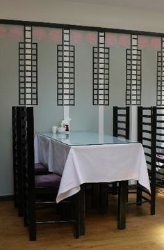 INTERIORS (Rectilinear): Willow Tea Rooms by Charles Rennie Mackintosh.