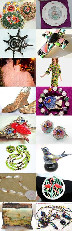 Bye Bye Summer #voguet Vogueteam treasury: So sad that summer is going .... oh well... these are wonderful items.  By https://www.etsy.com/shop/MyCreations4U