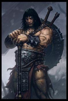 Conan el Bárbaro (también llamado Conan el Cimmerio o Conan de Cimmeria) es un personaje de ficción creado en 1932 por el escritor Robert E. Howard para una serie de relatos destinados a la revista de relatos pulp Weird Tales. Conan es un personaje arquetípico, el más famoso representante en su género, la así llamada espada y brujería, y un clásico de la fantasía estadounidense del siglo XX.