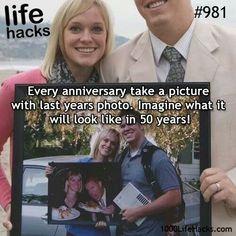 Cute Anniversary idea