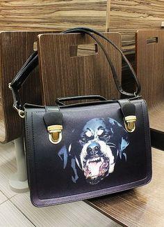 angry dog bag