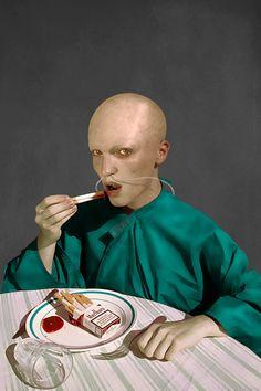 What I Eat - Marwane Pallas - A DEAD MAN 2013, edition of 7 Diasecs