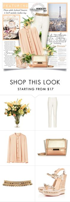 """""""Everlasting Love"""" by mrstom ❤ liked on Polyvore featuring GAB, PLANT, Distinctive Designs, Reiss, Tome, Diane Von Furstenberg, 2b bebe, Christian Louboutin and Guerlain"""