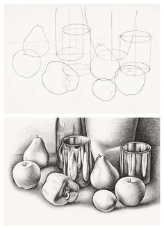 Food Still Life Pencil Drawing - Still Life Techniques Pencil Drawing Still Life Pencil Drawing Of A Pepper Focusing On Hatching Graphite Pencil Still Life Drawing Of Cherries By Stac. Cool Drawings, Drawing Sketches, Pencil Drawings, Drawing Step, Drawing Ideas, Hipster Drawings, Learn Drawing, Drawing Faces, Manga Drawing