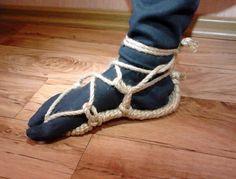 Waraji  beautiful and durable japanese sandals by Bakezori on Etsy