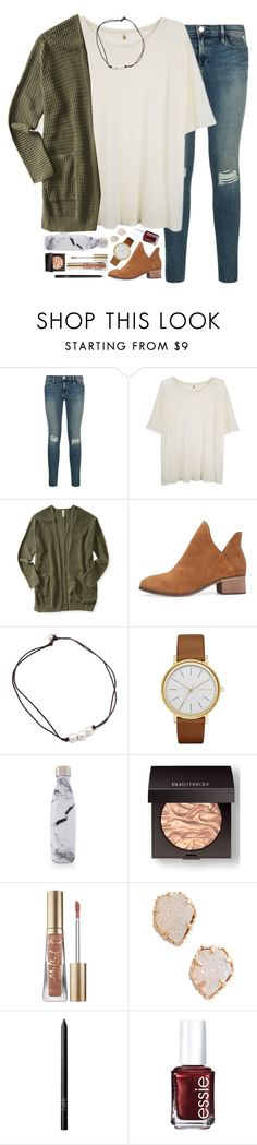 """youtube is a really great invention"" by sdyerrtx ❤ liked on Polyvore featuring R13, Aéropostale, Skagen, S'well, Laura Mercier, Too Faced Cosmetics, Kendra Scott, NARS Cosmetics and Essie"