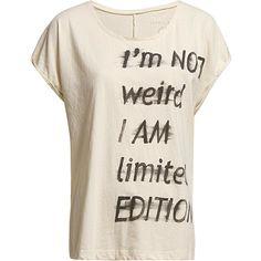 Esprit Denim t-shirts ($28) ❤ liked on Polyvore featuring tops, t-shirts, shirts, blusas, t shirts, pink t shirt, pink top, pink tee and tee-shirt
