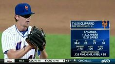 Tyler Clippard makes his Mets debut on 7/28/15
